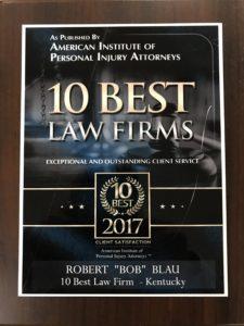 10 best law firm award